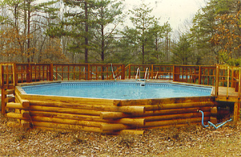 above swimming pools available in all sizes immediate installation available - Above Ground Fiberglass Swimming Pools