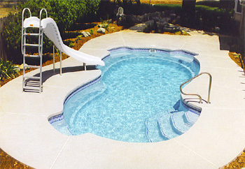 fiber glass pool dec5 Fiberglass Pools Nj